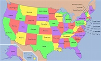 #GeoawesomeQuiz - Capital cities of the US states ...