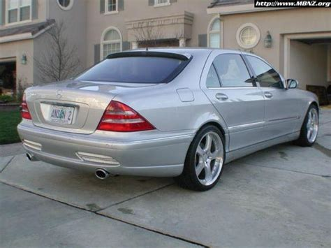 Mercedes S Class Modification by Mpowers 2002 Mercedes S Class Specs Photos