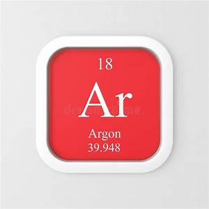 Symbol Argon Periodic Table