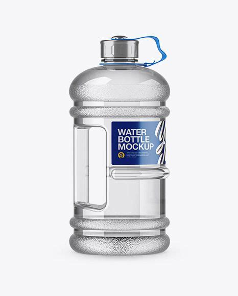Simple edit with smart layers. 2.2l Gym Water Bottle Mockup SideView Download 2.2l Gym ...