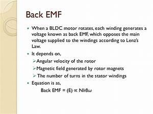 Back Emf Equation Of Dc Motor