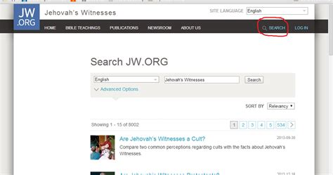Search Engine Organization by Defend Jehovah S Witnesses New Search Engine Feature At