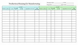 production schedule template e commercewordpress With manufacturing schedule template