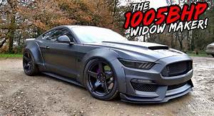1,000 HP Widebody Ford Mustang Looks, Sounds And Goes Like Pure Evil | Carscoops