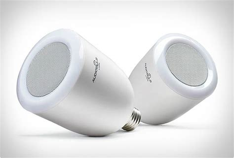 bulb speaker audiobulb wireless speaker light bulb Light