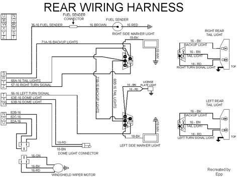 74 International Wiring Diagram by Rear Wire Harness Binderplanet