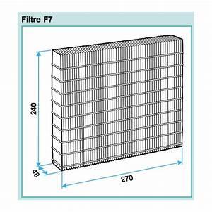 Prix Vmc Double Flux : lot de 3 filtres pour vmc dee fly cube micro watt 300 et ~ Nature-et-papiers.com Idées de Décoration