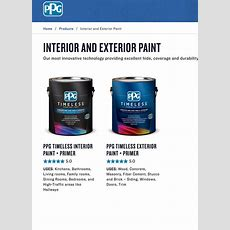There's A New Amazing Paint In Town Ppg Timeless