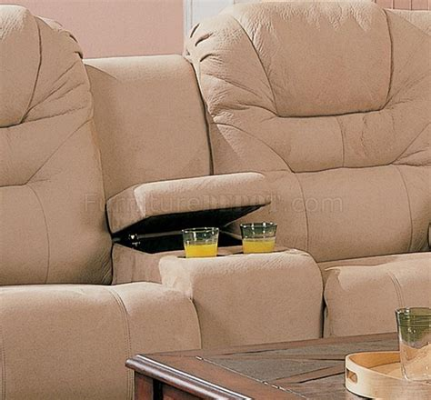 New Style Recliners by Beige Saddle Fabric Stylish Modern Reclining Sectional Sofa