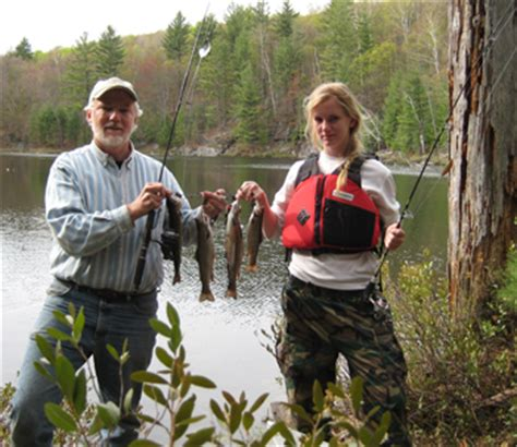 guide  brook trout fishing  adirondack ponds nys