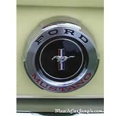 1965 Mustang Fastback Fuel Cap