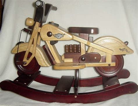 motorcycle rocking horse plans woodworking projects