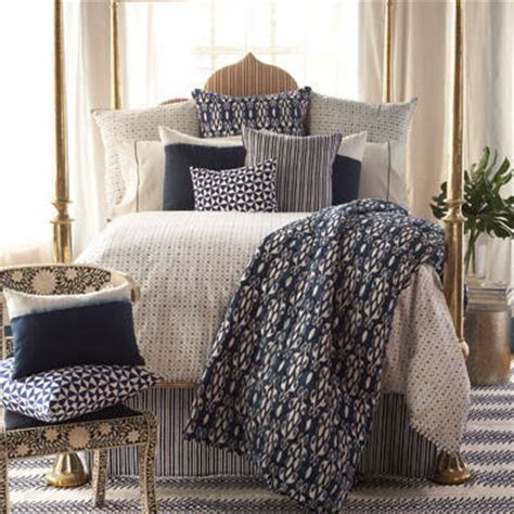 Robshaw Coverlet by Simple Beds For Block Print Bedding Nomadic Decorator
