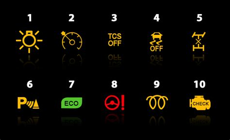 dashboard lights more detail service solutions didcot