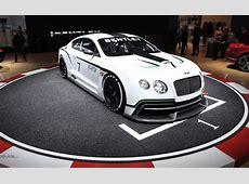 Bentley Continental GT3 Race Car, First Look 2012 Paris