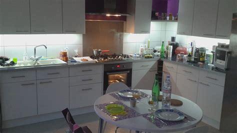 eclairage led plan de travail cuisine meuble plan travail cuisine plan meuble pour cuisine