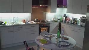 Meuble Cuisine Plan De Travail : eclairage led plan de travail cuisine led 39 s go ~ Dailycaller-alerts.com Idées de Décoration