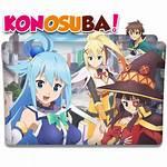 Konosuba Icon Folder Kirigiri Kaz Deviantart