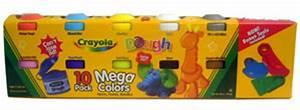 ToyDorks Grand Toys Crayola Mega Colors Dough 10