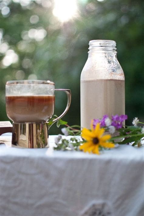 """Have your coffee as a decadent breakfast with this cinnabon inspired homemade cinnamon roll creamer recipe homemade cinnamon roll creamer. """"Cinnabon homemade coffee creamer."""" This recipe is groundbreaking. You'll never guess the secr ..."""