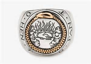 engagement ring for sale ouroboros signet