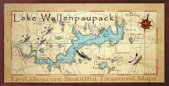 Realtor Resume Exles by Lake Wallenpaupack Fishing Map Image Of Fishing Magimages Co