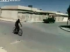 When i upgrade a gif for someone and then see them use it in the wild. That bike was not designed for 2 inch jumps ANIMATED - visit website to view | Funny gif, Really ...
