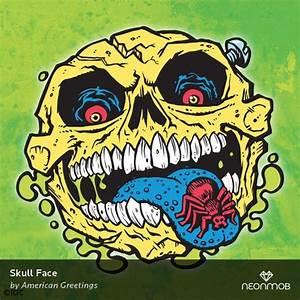 Skull Face by American Greetings americangreetings from