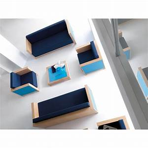 Canape 3 places pour salle d39attente ou salon vip club for Canapé 3 places pour vente decoration