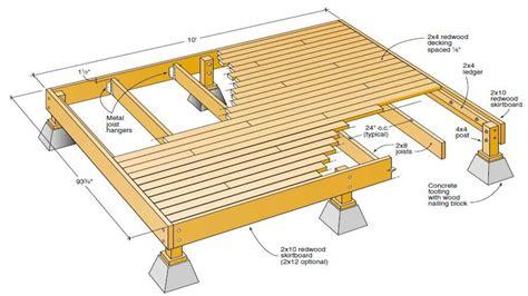 wood deck plans  deck plans blueprints deck plan