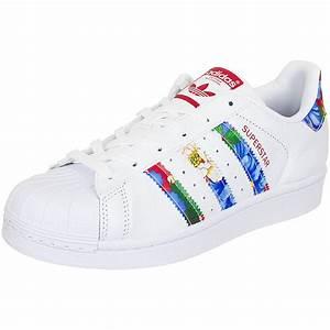 adidas Originals Damen Superstar Weiß BY9177