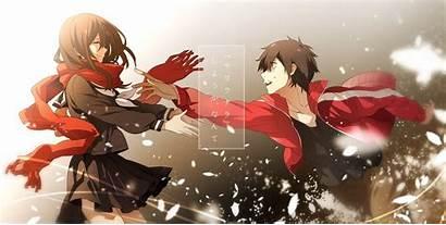 Project Kagerou Anime Ayano Kisaragi Shintaro Boy