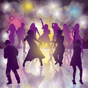 Dance Party | Vector background, Dancing and Fonts