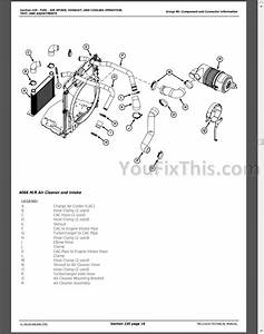 John Deere 4555 4755 4955 4560 4760 4960 Repair Manual