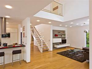 Haus Mit Galerie Im Wohnzimmer : offener wohnbereich ~ Orissabook.com Haus und Dekorationen