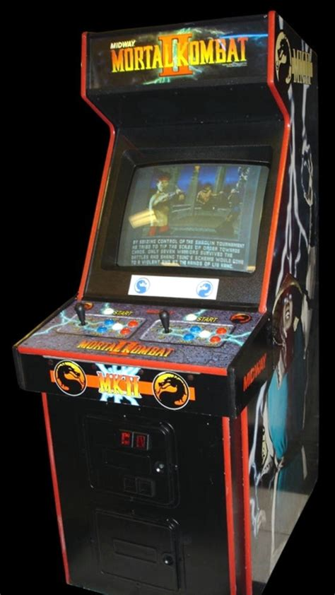 Mortal Kombat Arcade Machine by Mortal Kombat Ii Rev L3 1 Rom