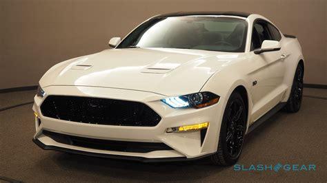 2018 Mustang Gt by 2018 Ford Mustang Gt Gallery Slashgear