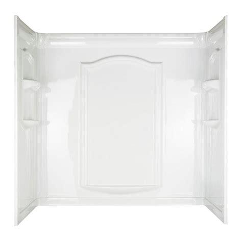 bathtub wall set asb 60 in x 32 in aspiration bathtub wall set in white