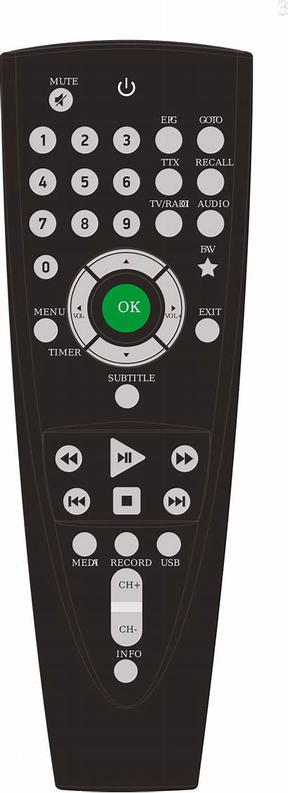 Remote Clipart Tv Control Transparent Television Clip