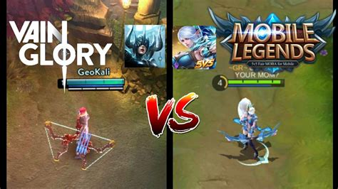 Mobile Legends Vs Vainglory
