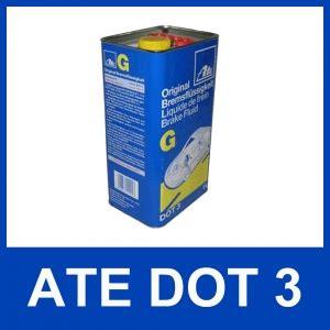 bremsflüssigkeit dot 3 5 liter original ate g dot 3 bremsfl 220 ssigkeit 5000 ml dot3