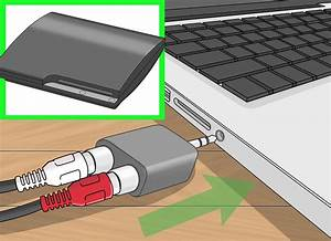 4 Ways To Connect A PS3 To Computer Speakers WikiHow