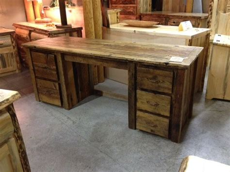 barnwood desk just in from our shop a barnwood desk with drawers and
