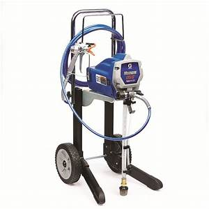 Pistolet Airless Graco : graco lts 17 electric stationary airless paint sprayer at ~ Dallasstarsshop.com Idées de Décoration