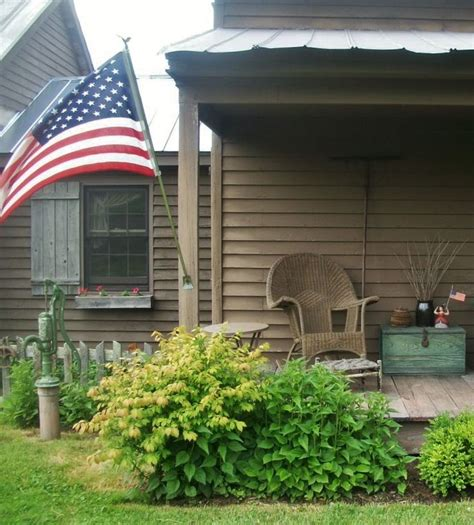 Best Images About Primitive Country Porches