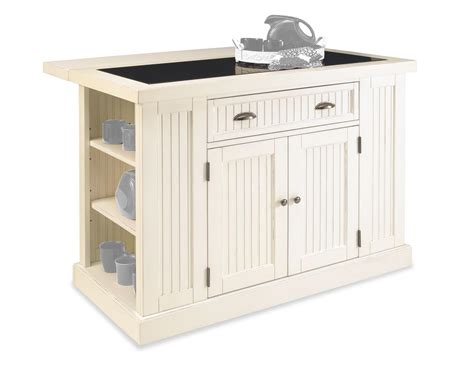 Home Styles 502294 Nantucket Kitchen Island Distressed Finish