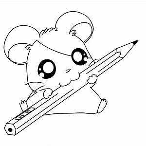 Cute Animal Coloring Pages Anime Animals Coloring Pages ...