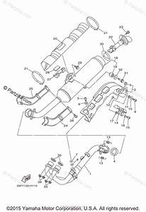 Yamaha Atv 2011 Oem Parts Diagram For Exhaust