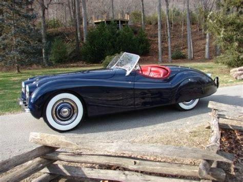 1953 Jaguar Xk120 Roadster. Love The Colors, Interior And
