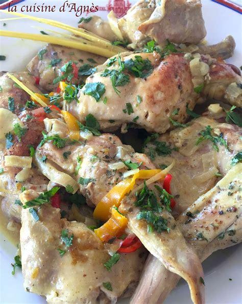 lait de coco cuisine curry de lapin au lait de coco la cuisine d 39 agnèsla
